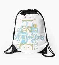 it's a small world! Drawstring Bag
