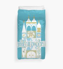it's a small world! Duvet Cover