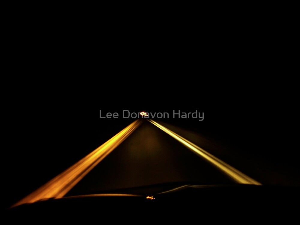 Driving to Infinity by Lee Donavon Hardy