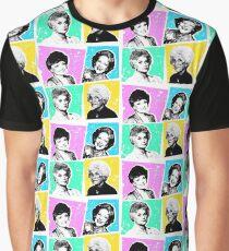 Goldene Mädchen POP! Grafik T-Shirt