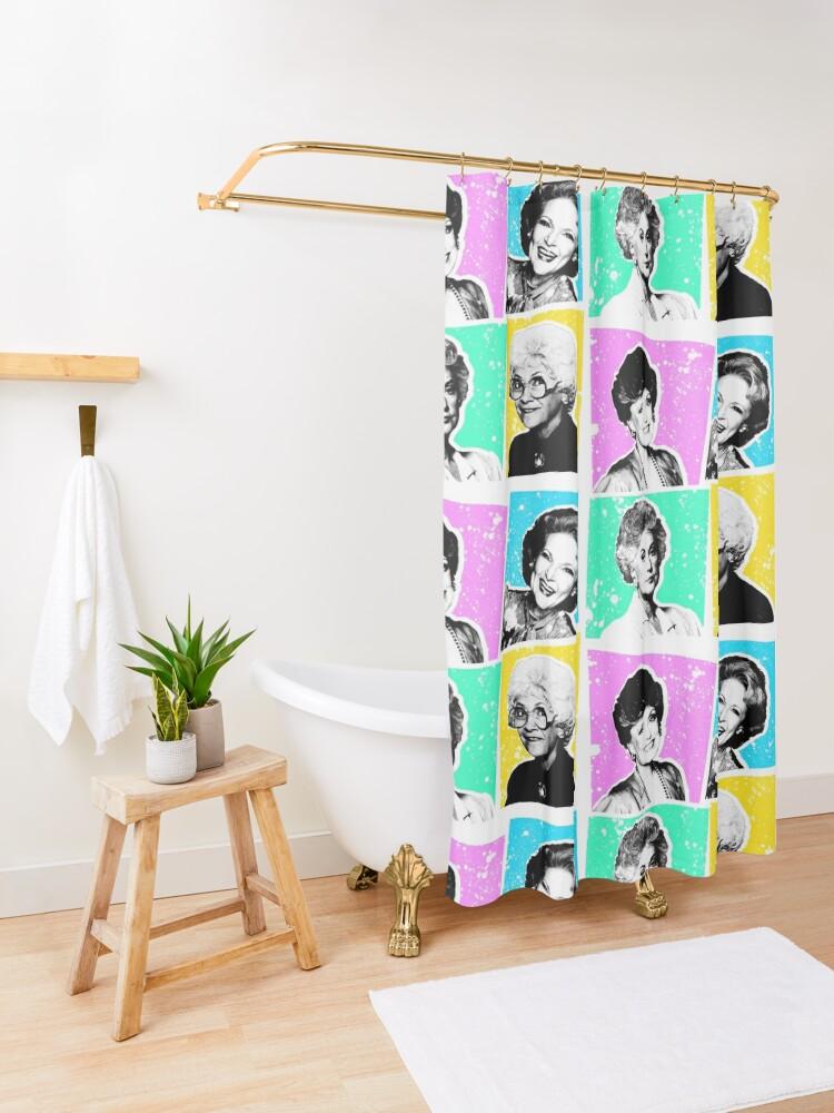 Alternate view of Golden Girls POP! Shower Curtain