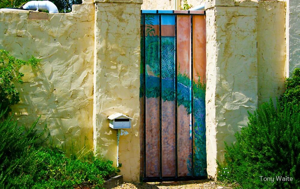 Garden Gate by Tony Waite