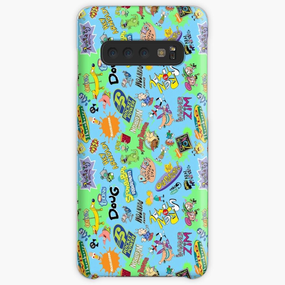 ¡Nicktoons hawaiano Print-a-Palooza! Funda y vinilo para Samsung Galaxy