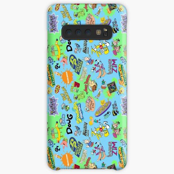 ¡Nicktoons hawaiano Print-a-Palooza! Funda rígida para Samsung Galaxy