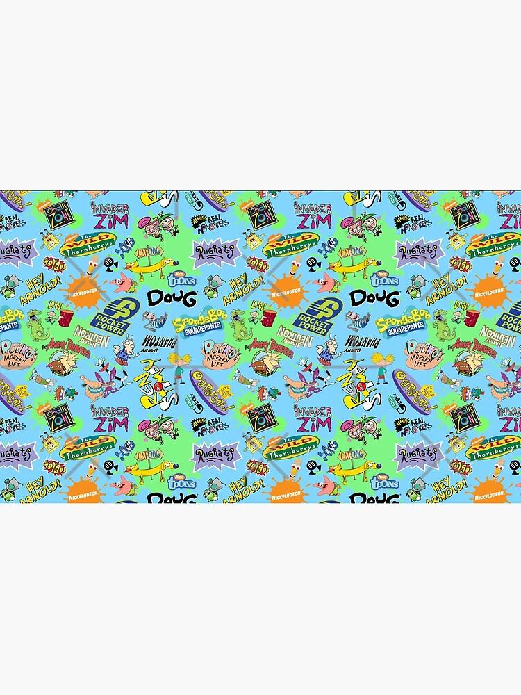 ¡Nicktoons hawaiano Print-a-Palooza! de Pop-Tacular