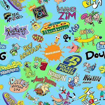 Nicktoons Hawaii-Print-a-Palooza! von Pop-Tacular