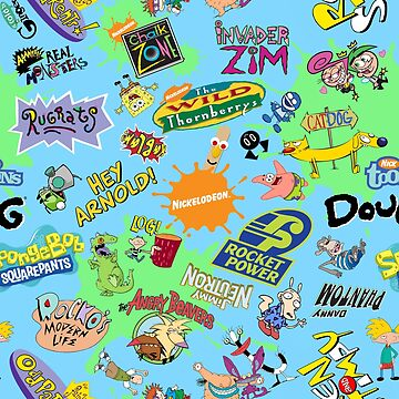 Nicktoons Hawaiian Print-a-Palooza! by Pop-Tacular