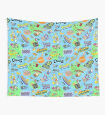 Nicktoons Hawaiian Print-a-Palooza! Wall Tapestry