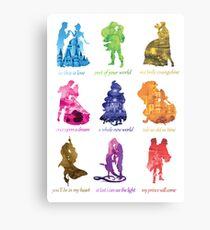Everyone's a Princess  Metal Print