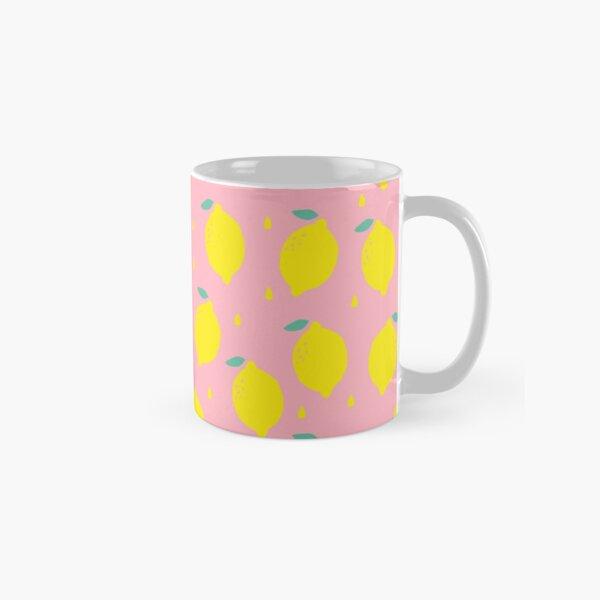Sweet Lemon Pattern Classic Mug