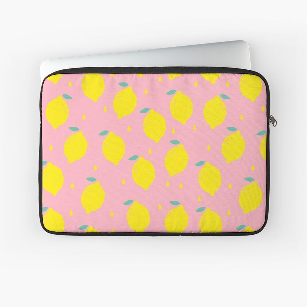 Sweet Lemon Pattern Laptop Sleeve