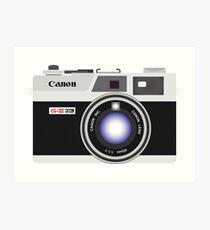 Canon Canonet G III QL17 Rangefinder Camera Art Print