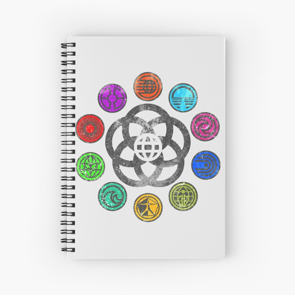 Epcot 82 Spiral Notebook