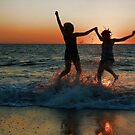 Sisters - Playing in the Waves by Appel