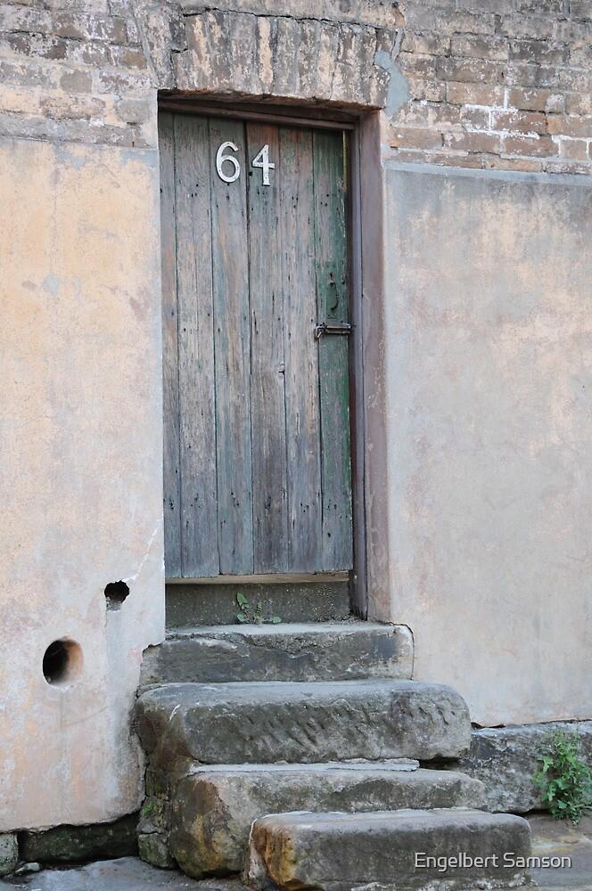 What's behind number 64? by Engelbert Samson
