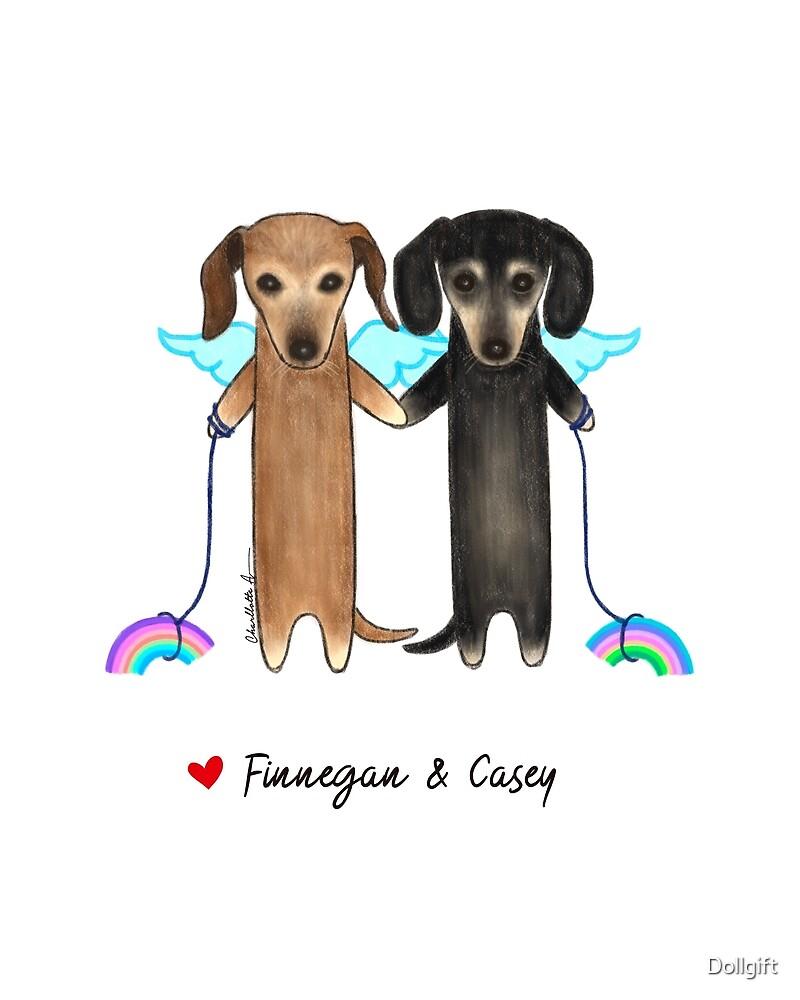 Finnegan & Casey by Dollgift