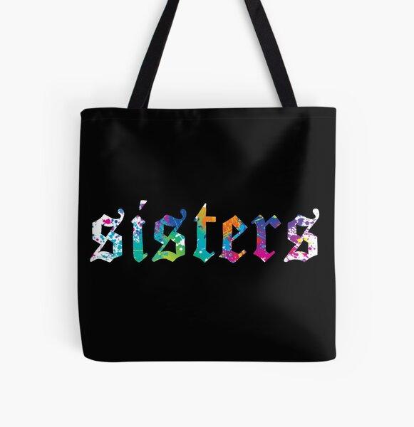 James Charles - Sisters Paint Splatter (Noir) Tote bag doublé
