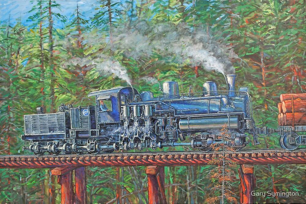 Pushin' Timber by Gary Symington