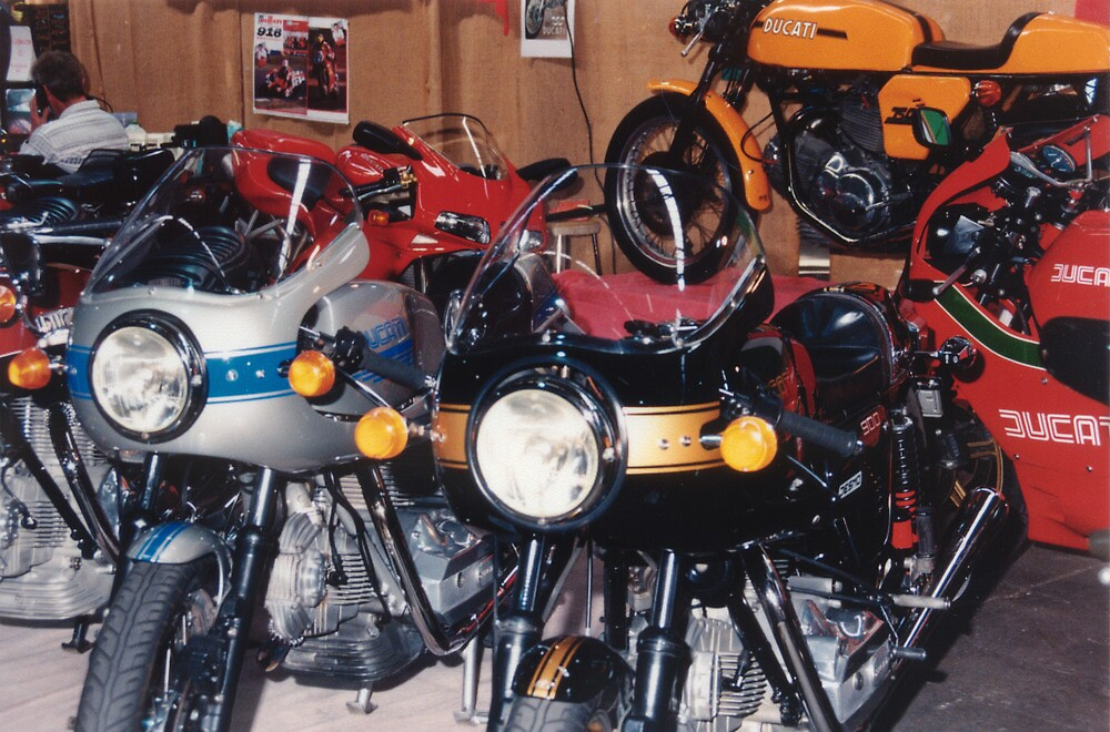 A Plethora of Ducati by Ricky Pfeiffer