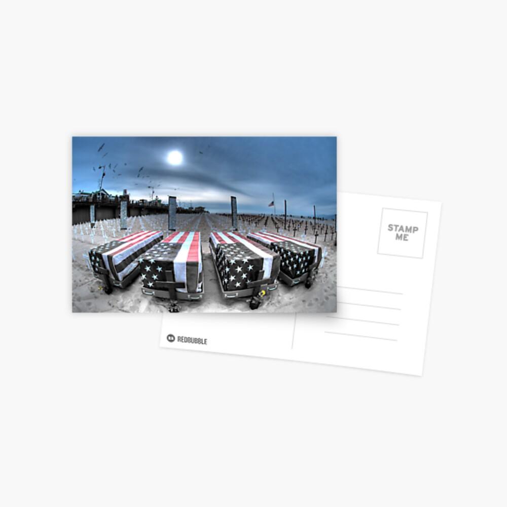 Beachside Memorial Postcard