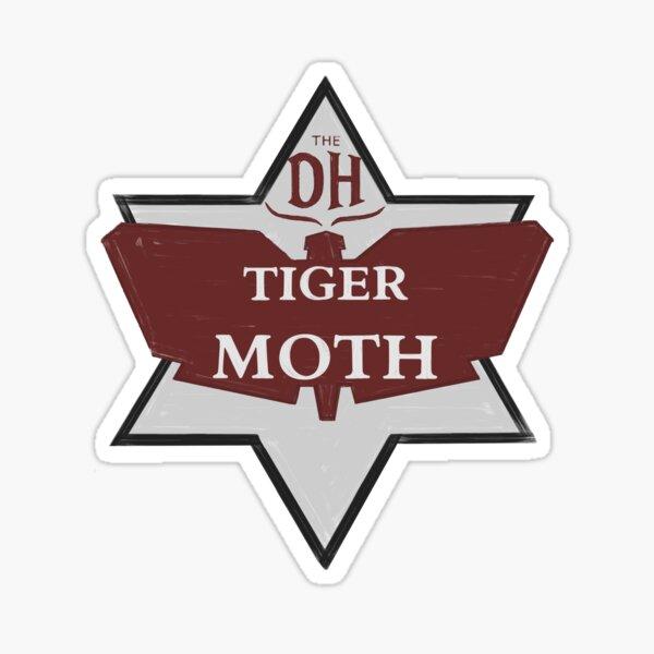 TIGER MOTH Sticker