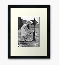 Martha- Railroad Signal Framed Print