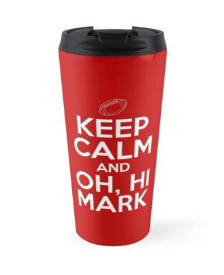 Keep Calm and Oh, Hi Mark by Absurd  Digital Imagery