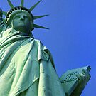Liberty - New York Harbor by Bev Pascoe