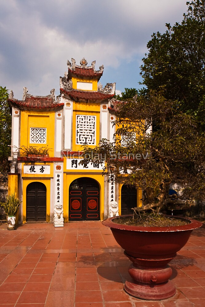 Vietnam Temple by Nickolay Stanev