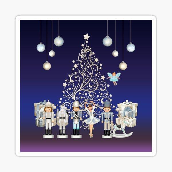 Nutcracker Christmas Special - The Nutcracker Ballet Scene - Nutcracker Story on Christmas eve Sticker