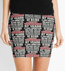 97th Birthday Shirt | Birthday Countdown | Of Being Awesome Mini Skirt