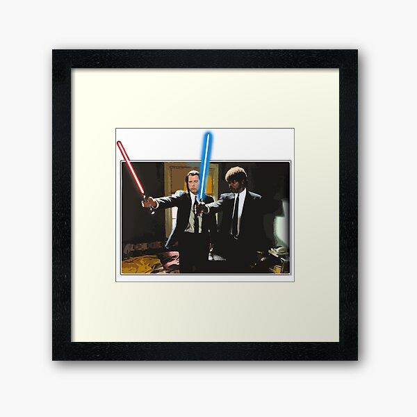Pulp fiction Star Framed Art Print