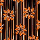Flower in Orange by JohannaDesign
