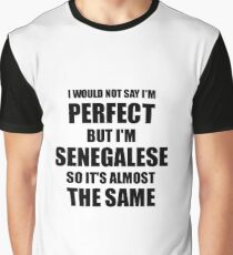 Funny Senegalese Gift for Senegal Pride Perfect Husband Wife Present Graphic T-Shirt