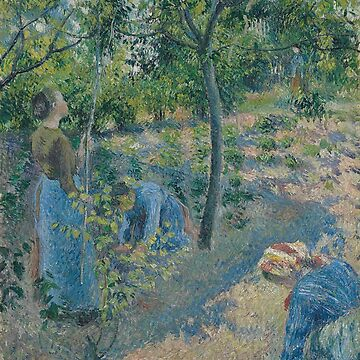 Picking Apples - Camille Pissarro by themasters