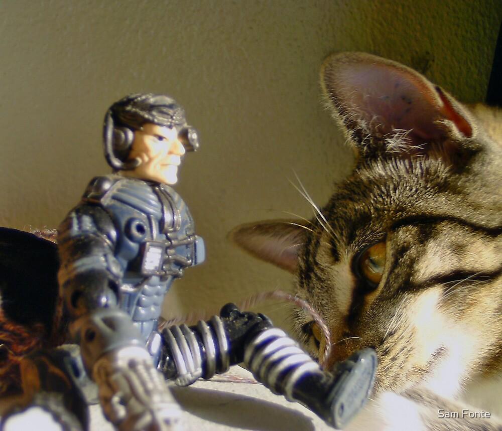 cyborg stalker... by Sam Fonte
