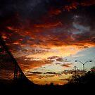 Fenceline in a Sunset by bigjason56