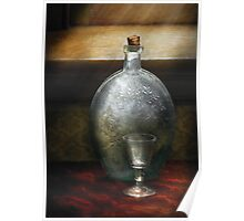 Bar - The Flask and the Glass Poster