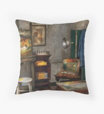 Painter - The Artists Studio Throw Pillow