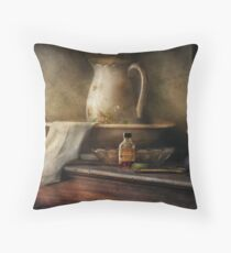 Nostalgia - The Water Pitcher Throw Pillow