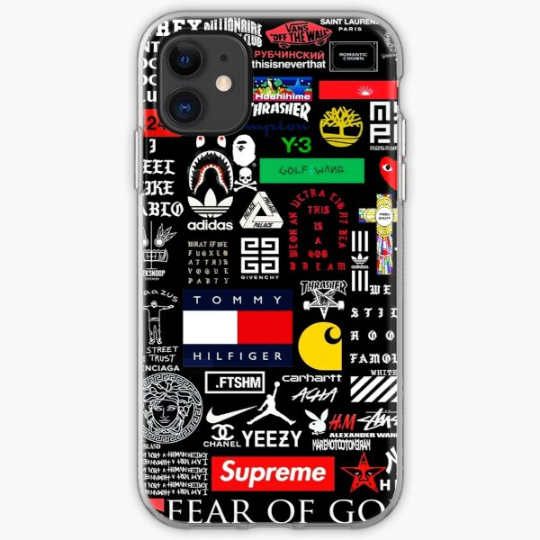 All Brand Collage iPhone Soft Case