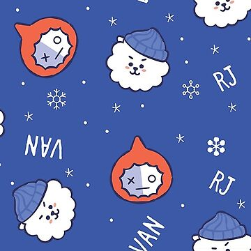 BT21 Let It Snow - RJ + Van by ZeroKara