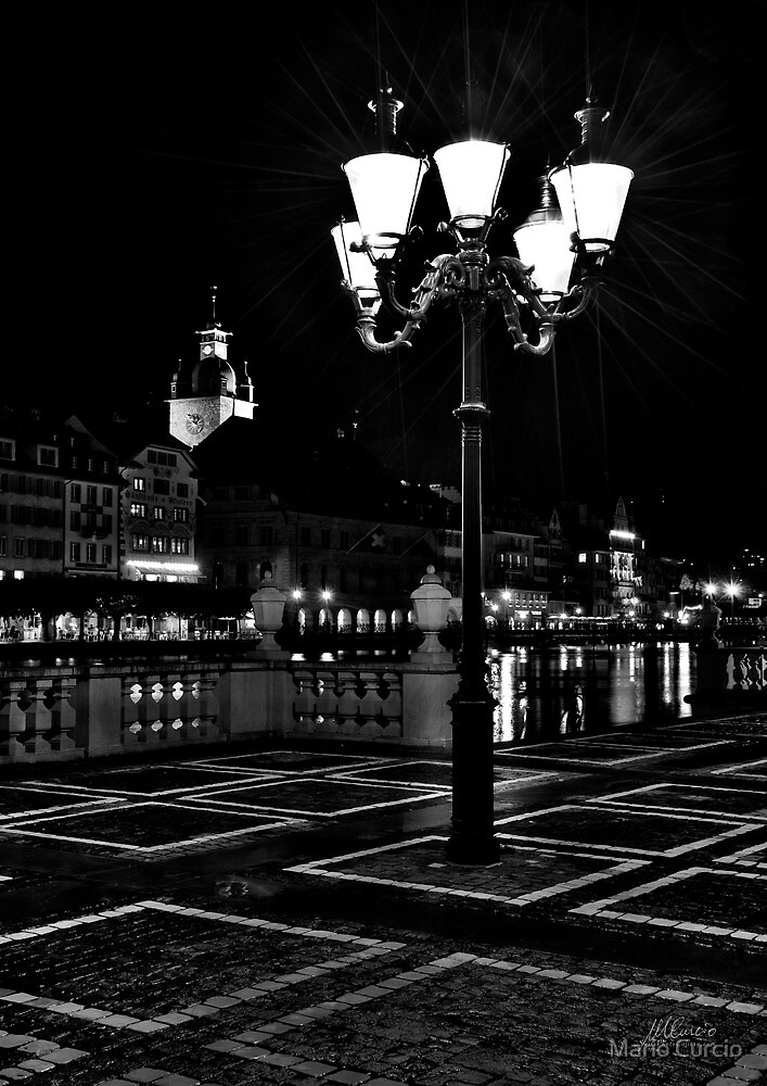 Street lights by Mario Curcio