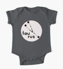 Stier Sternzeichen Baby Body Kurzarm