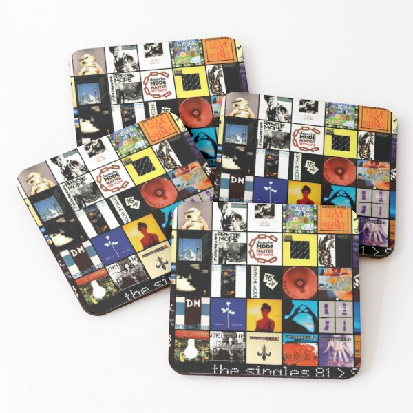 Depeche Coasters (Set of 4)