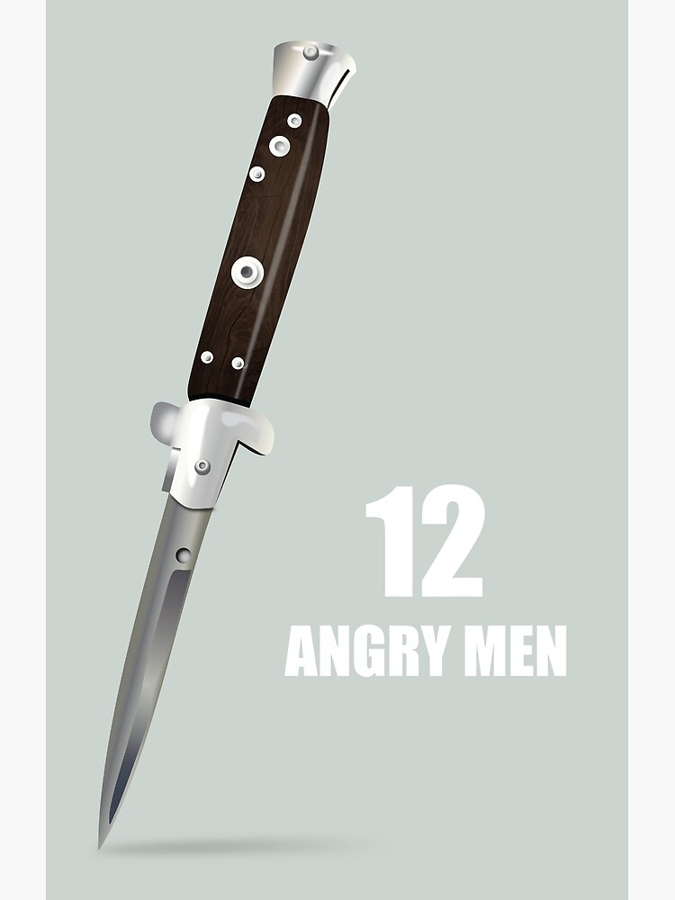 12 Angry Men - Alternative Movie Poster by MoviePosterBoy