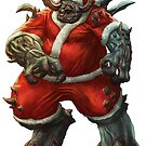 Merry Xmas from Santa Claws by GeekNative
