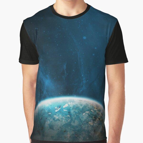 TooLoud Solo Jellyfish Watercolor Dark Muscle Shirt