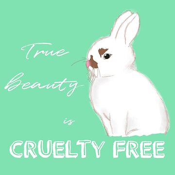 Cruelty-free Bunny (Green) by artmoonist