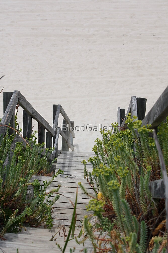 Steps at Nanarup Beach, Albany WA by KBloodGallery